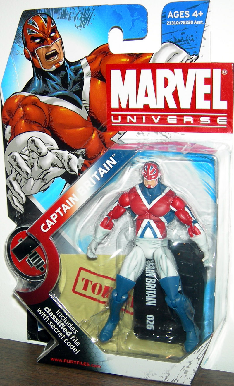 Captain Britain (Marvel Universe, series 2, 026)