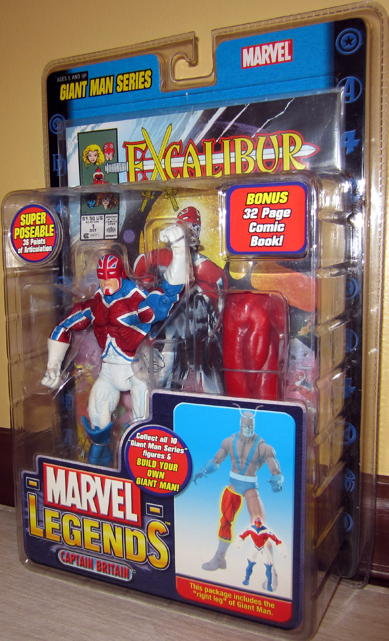Captain Britain (Marvel Legends)