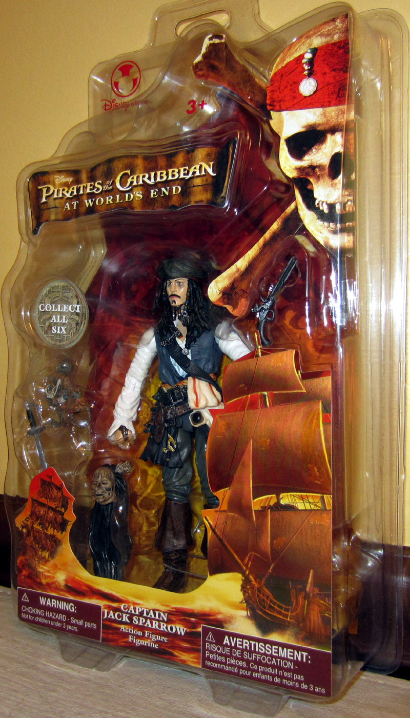 Captain Jack Sparrow (At World's End, Disney Store Exclusive)