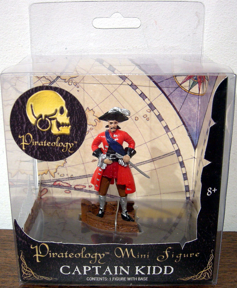 Captain Kidd mini figure