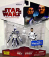 Captain Rex & Clone Trooper Fives 2-Pack