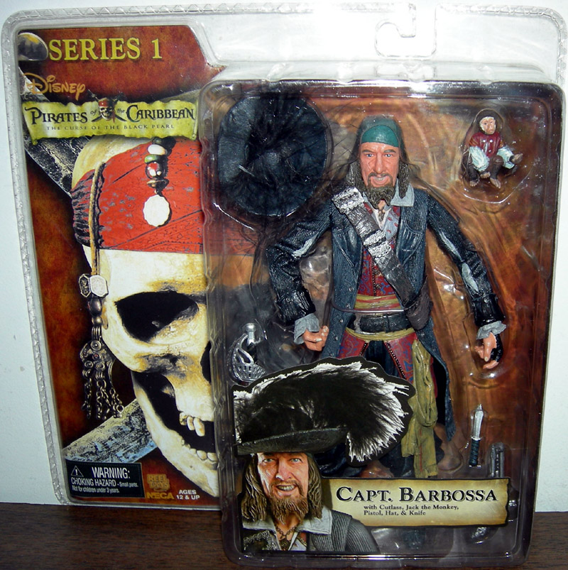 Capt. Barbossa (The Curse of the Black Pearl)