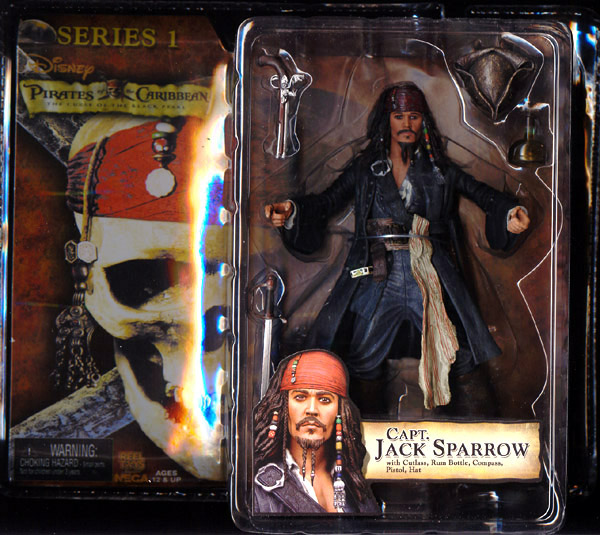 Capt. Jack Sparrow (mouth closed)