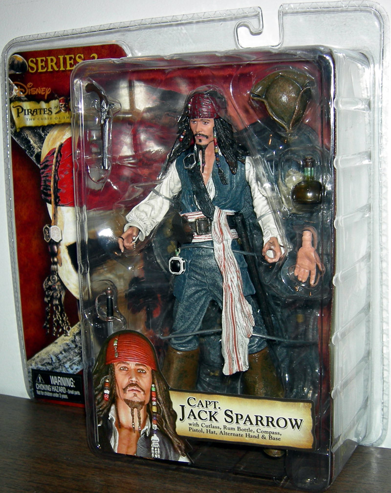 Capt. Jack Sparrow (The Curse of the Black Pearl, series 2)