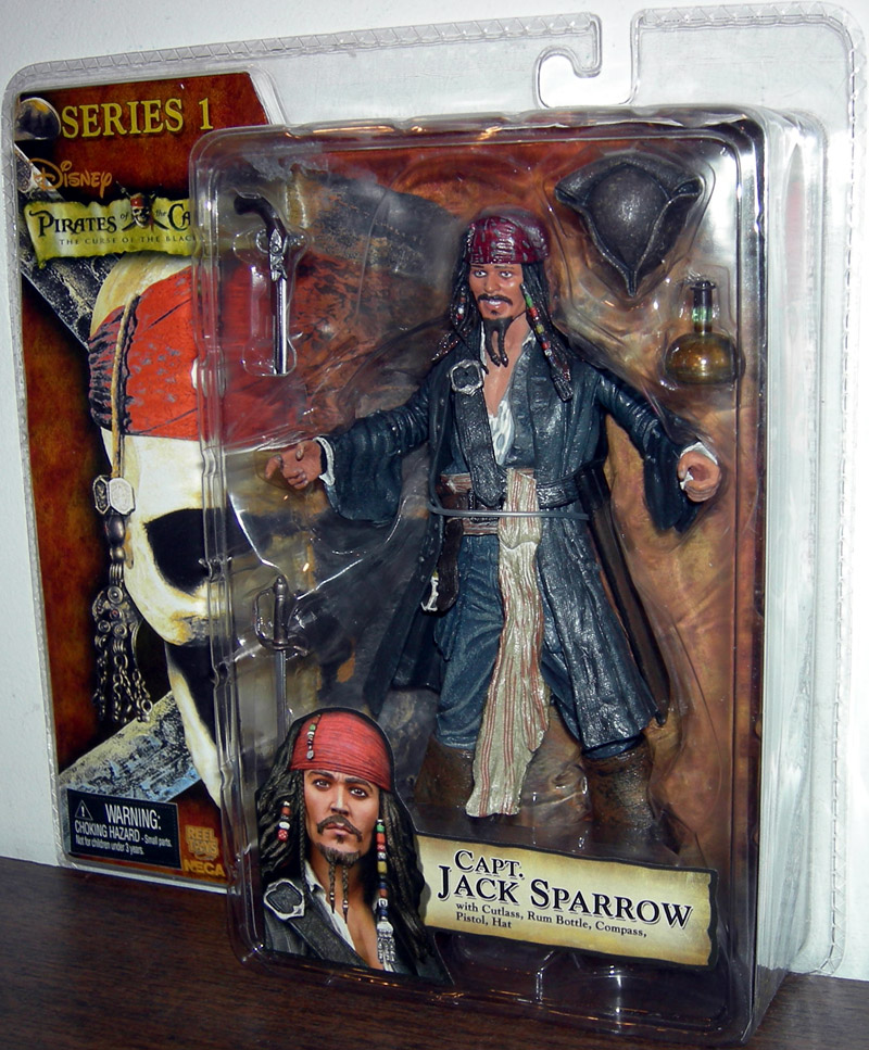 Capt. Jack Sparrow (mouth open)