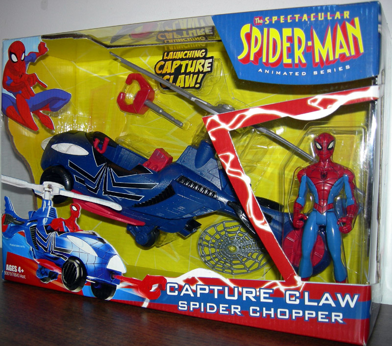 Capture Claw Spider Chopper (Spectacular Spider-Man Animated Series)