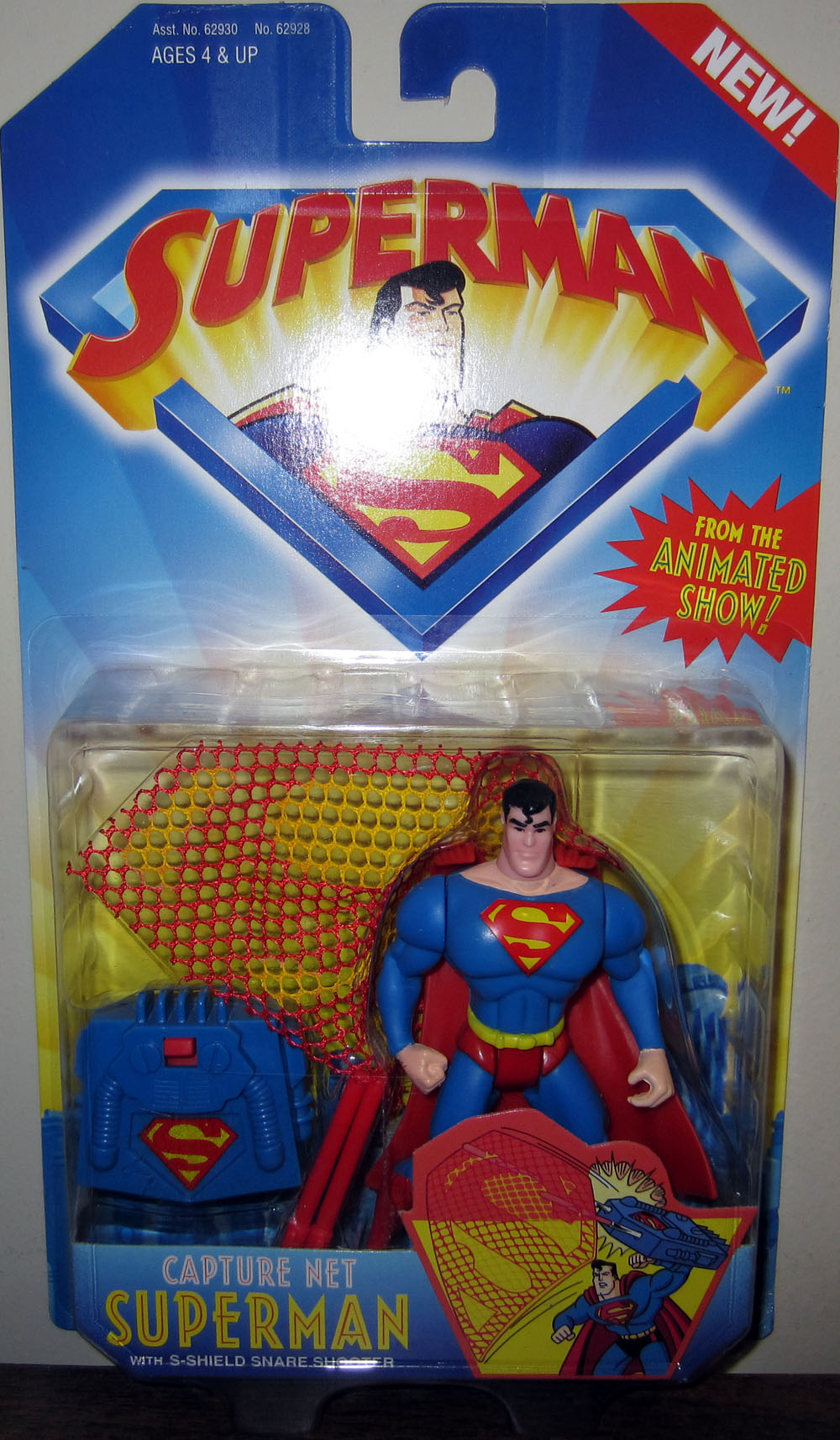 Capture Net Superman