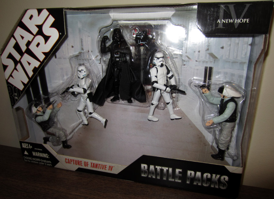 Capture of Tantive IV Battle Packs