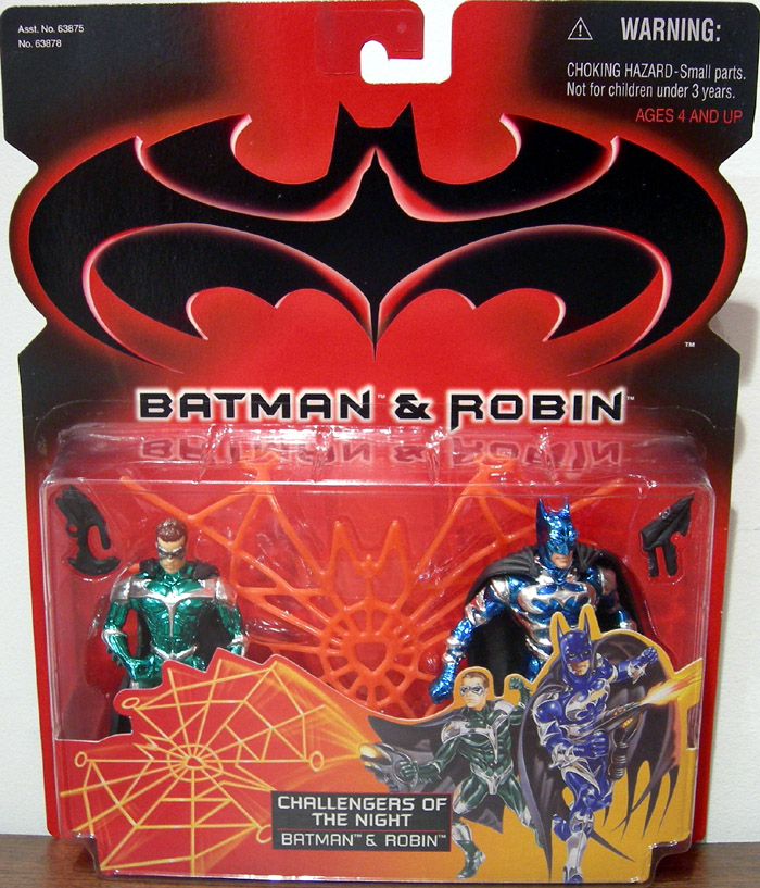 Challengers of The Night 2-Pack (Batman & Robin)