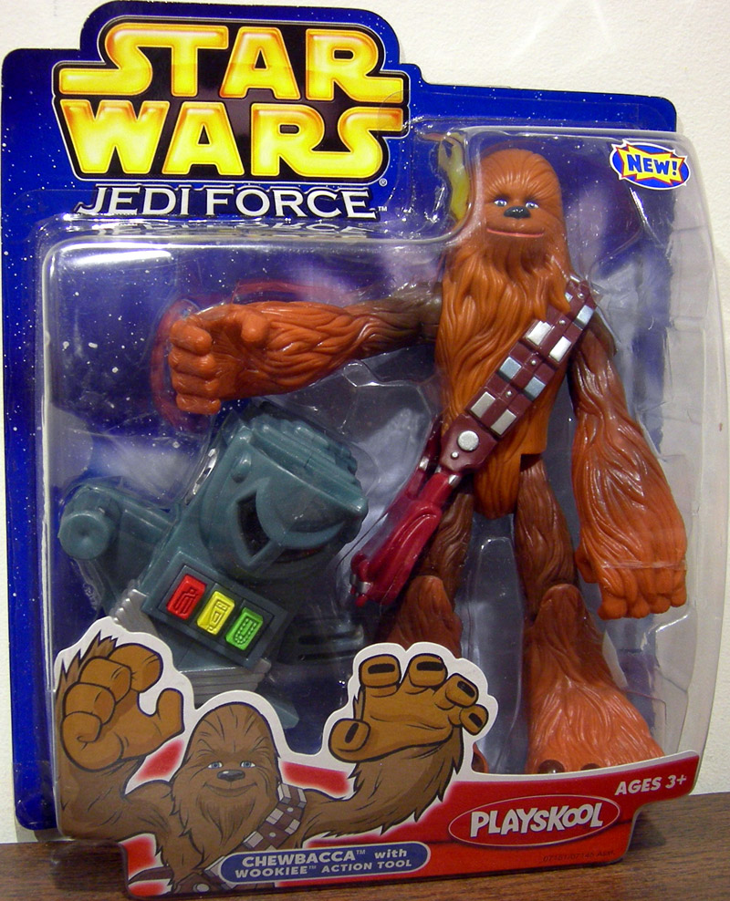 Chewbacca with Wookiee action tool (Jedi Force)