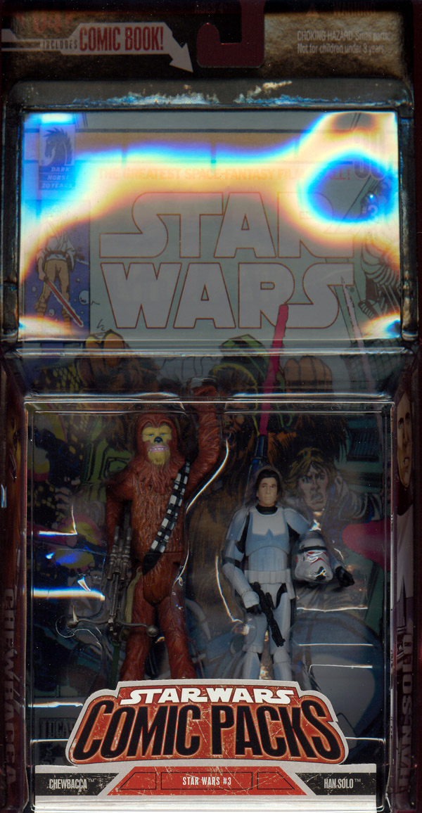 Chewbacca & Han Solo (Comic Packs)