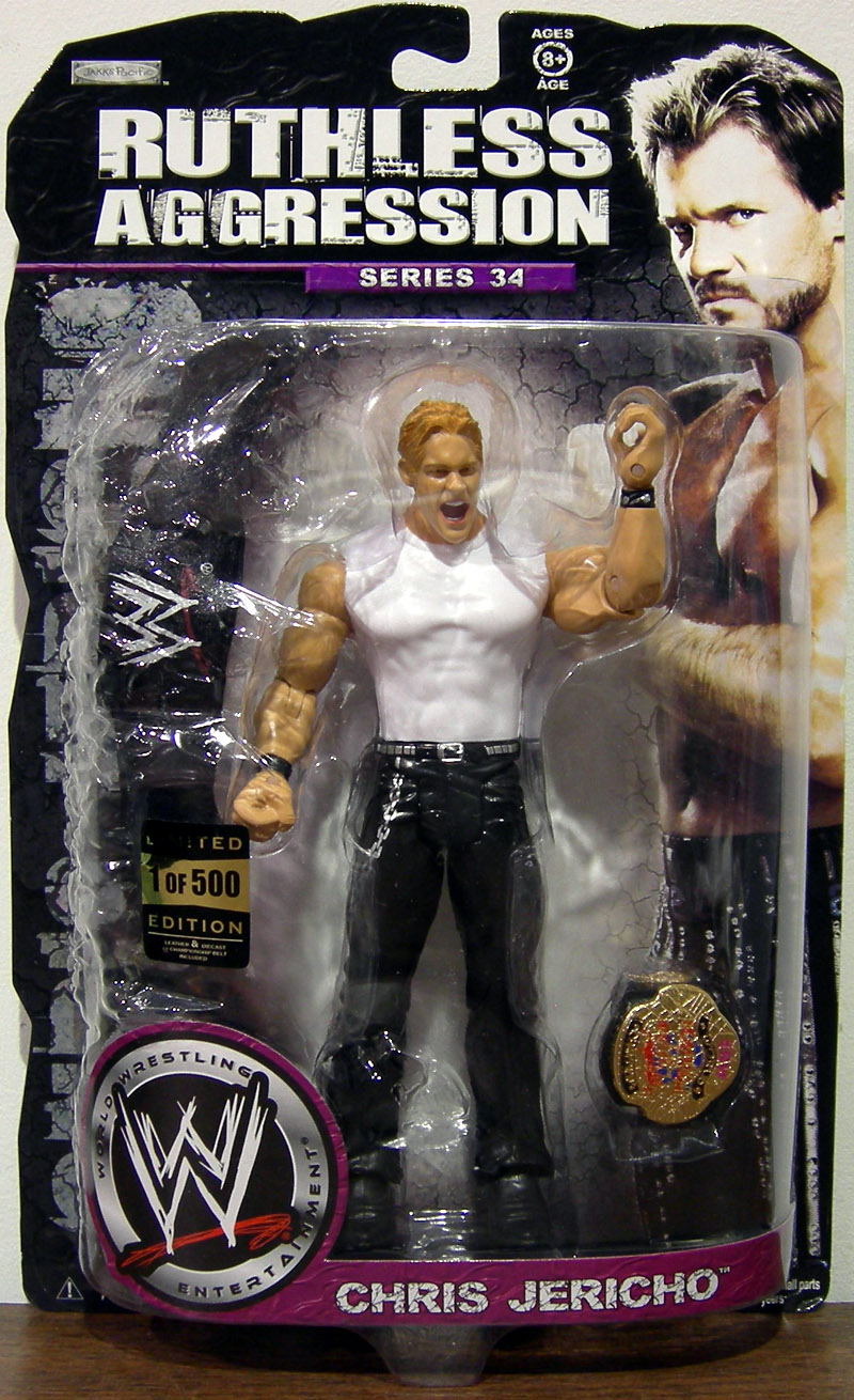Chris Jericho (Ruthless Aggression, Series 34, 1 of 500)