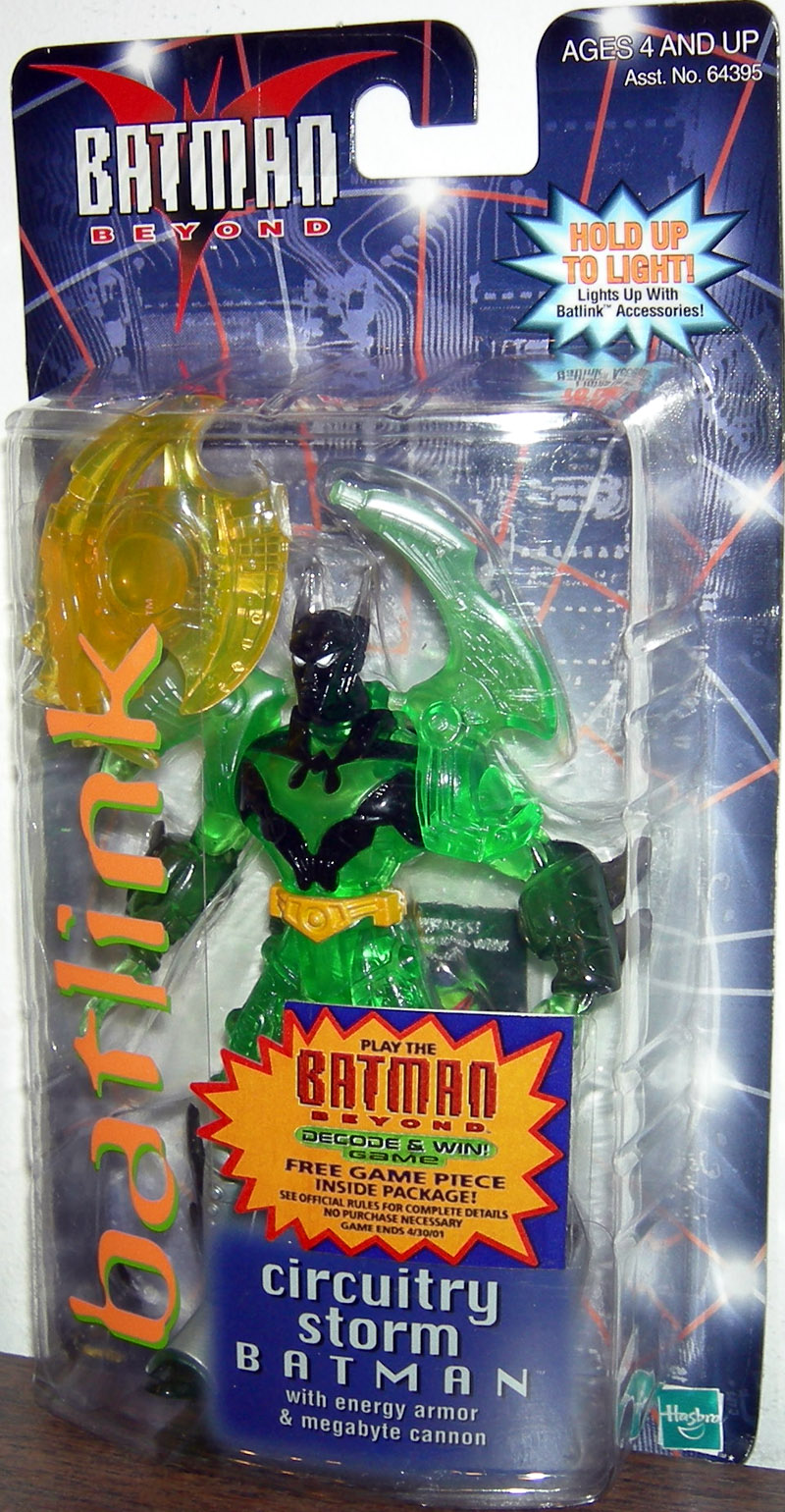 Circuitry Storm Batman (Batman Beyond, Batlink)