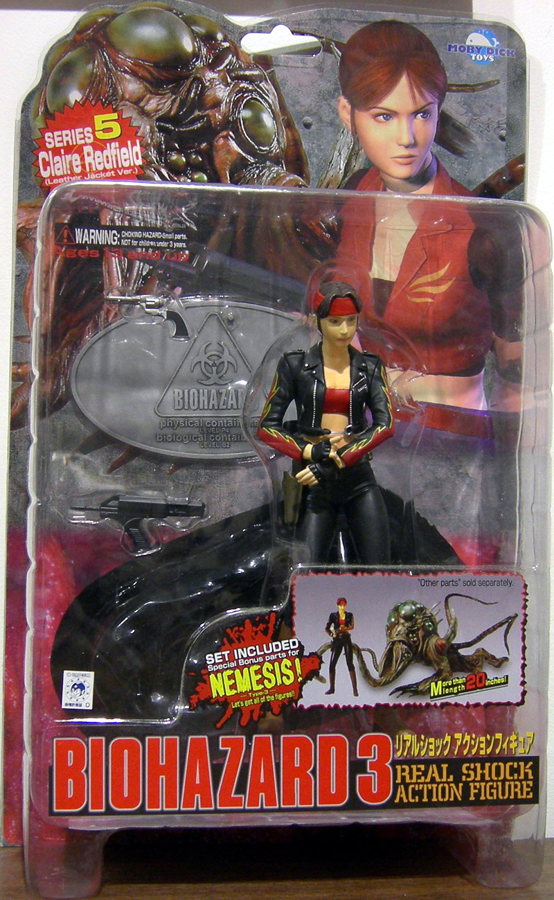 Claire Redfield (Biohazard 3, leather jacket version)