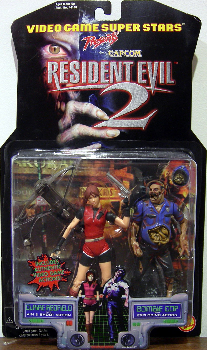 Claire Redfield & Zombie Cop