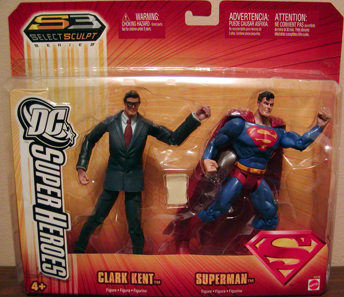 Clark Kent & Superman 2-Pack (S3)