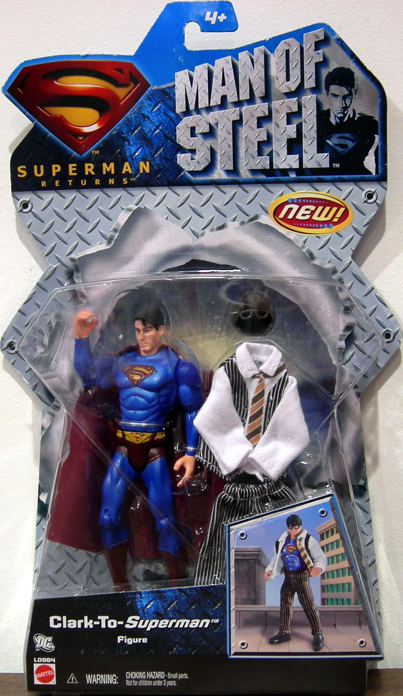 Clark-To-Superman (Man Of Steel)