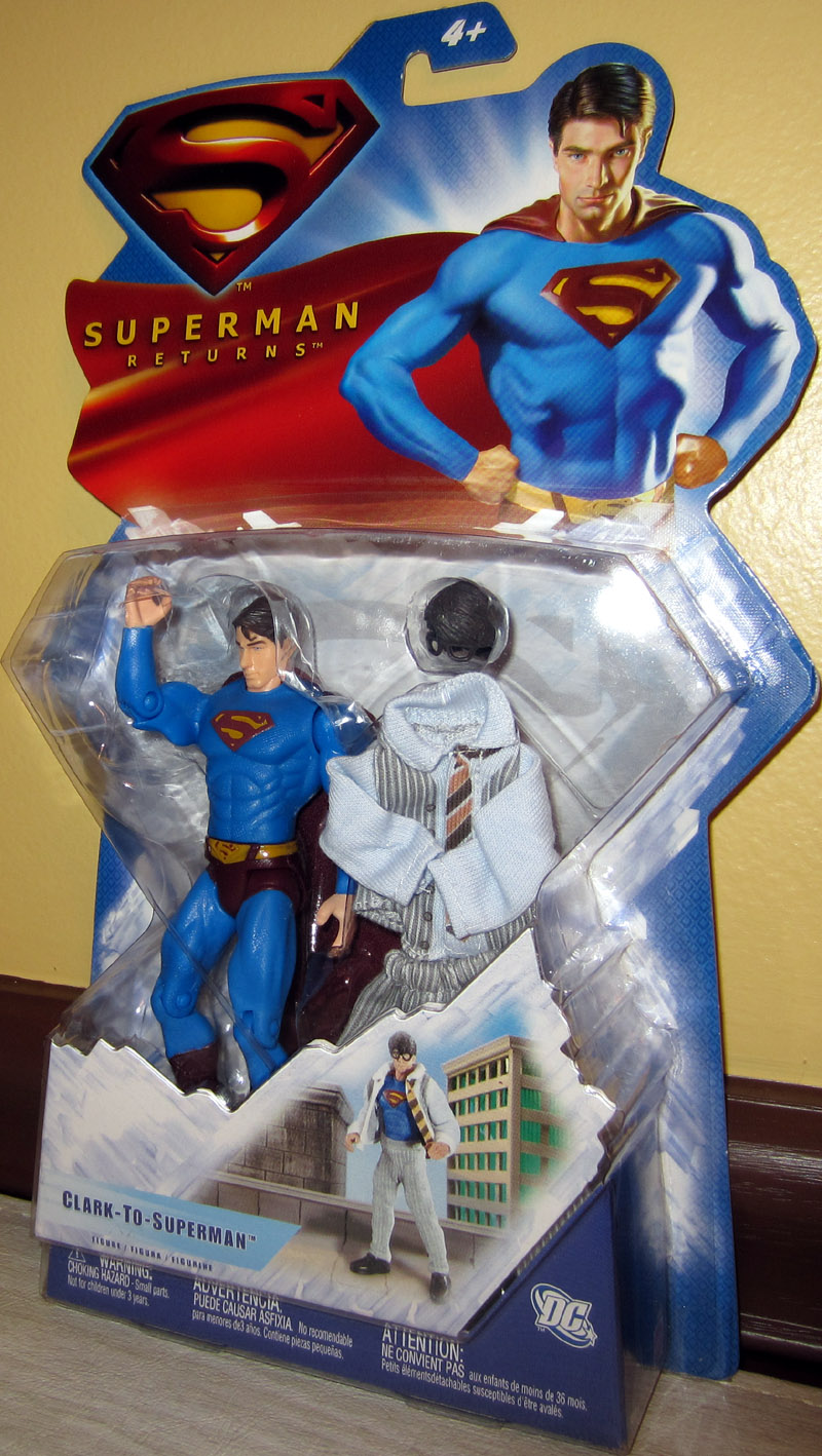 Clark-To-Superman (Superman Returns)