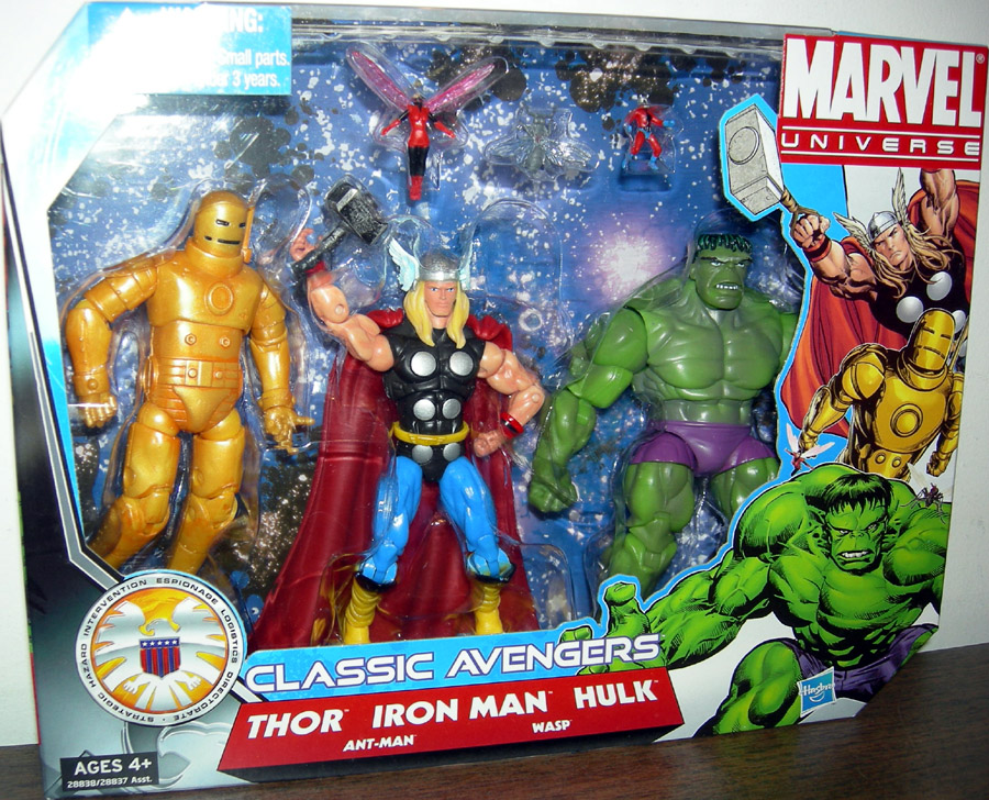 Classic Avengers 5-Pack (Marvel Universe)