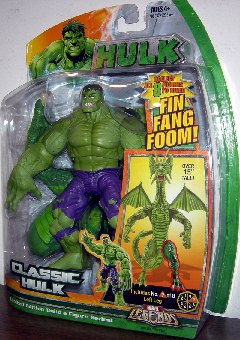 Classic Hulk (Marvel Legends, Fin Fang Foom series)