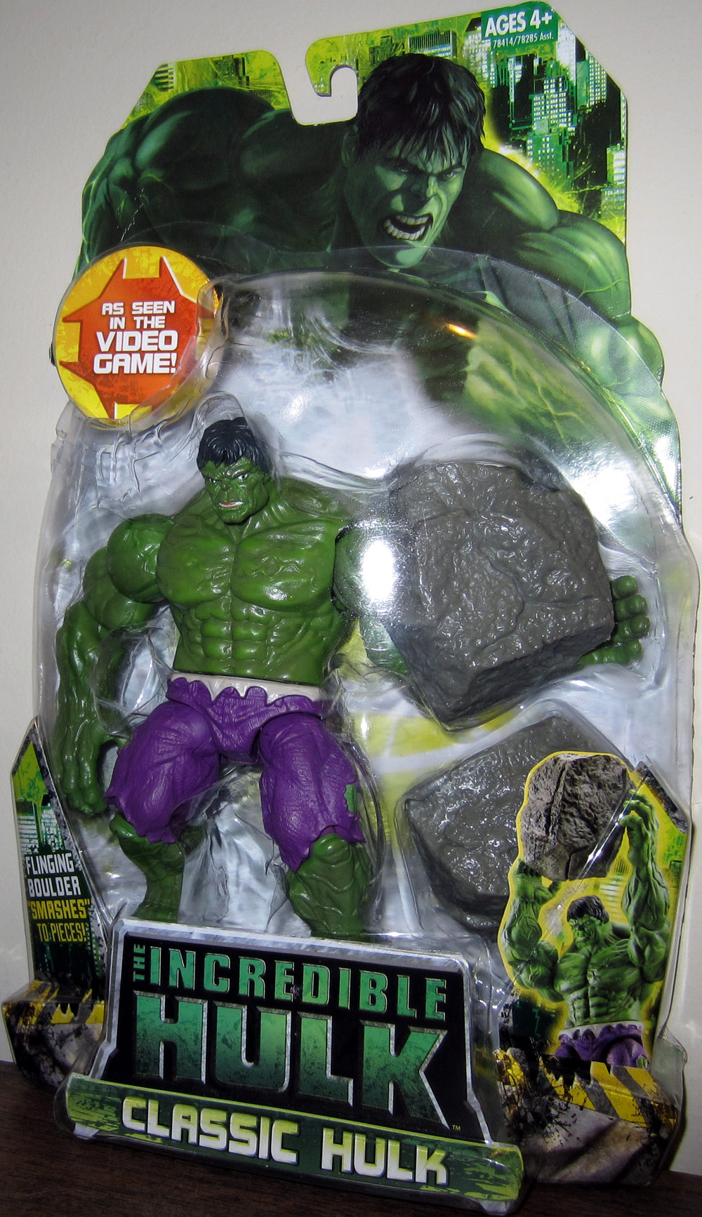 Classic Hulk (as seen in the video game)