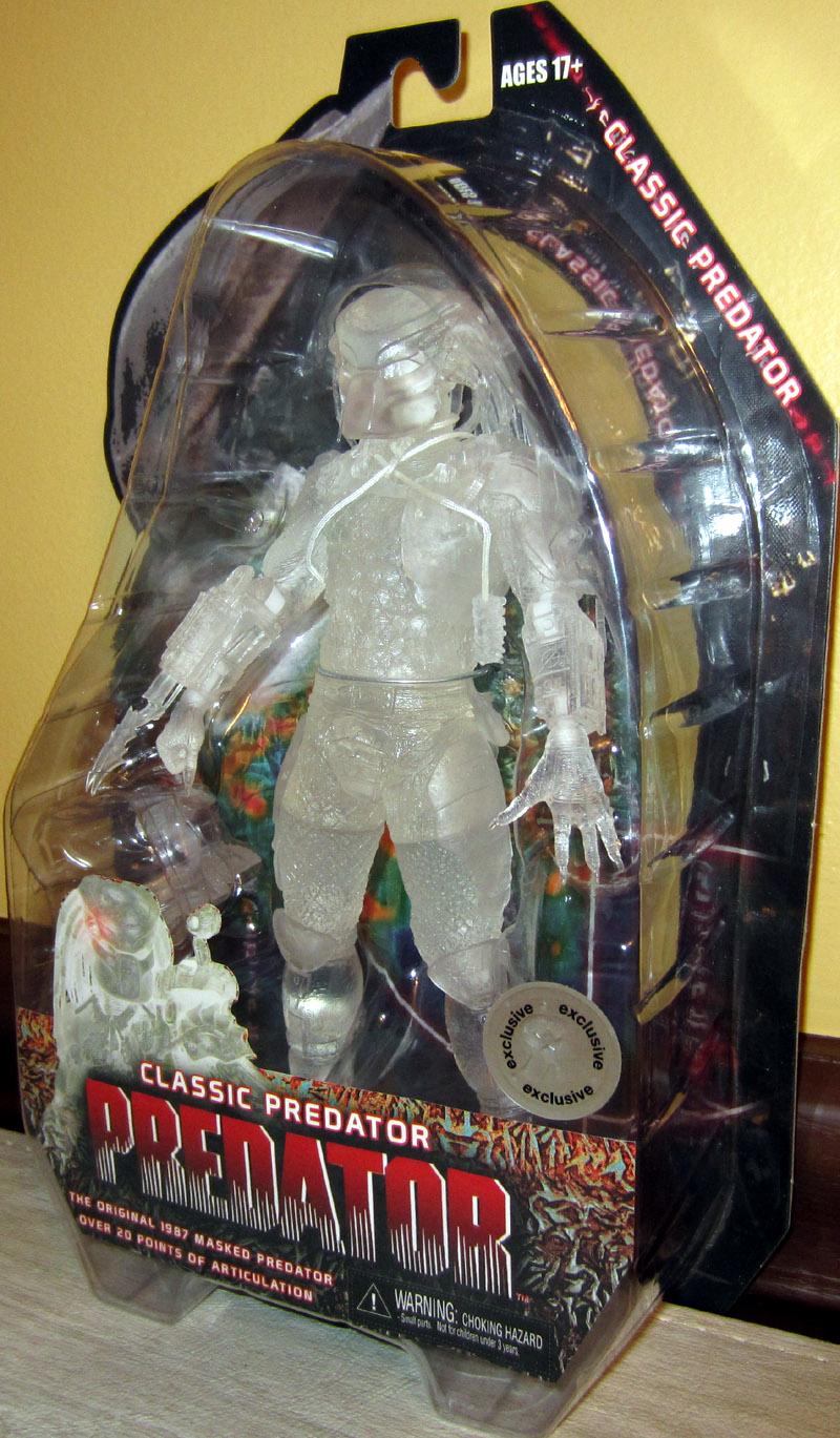 Predator Toys R Us : Classic predator tru exclusive action figure neca