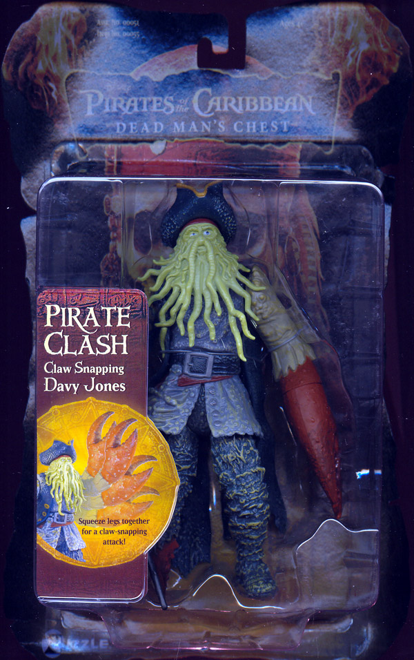 Claw Snapping Davy Jones