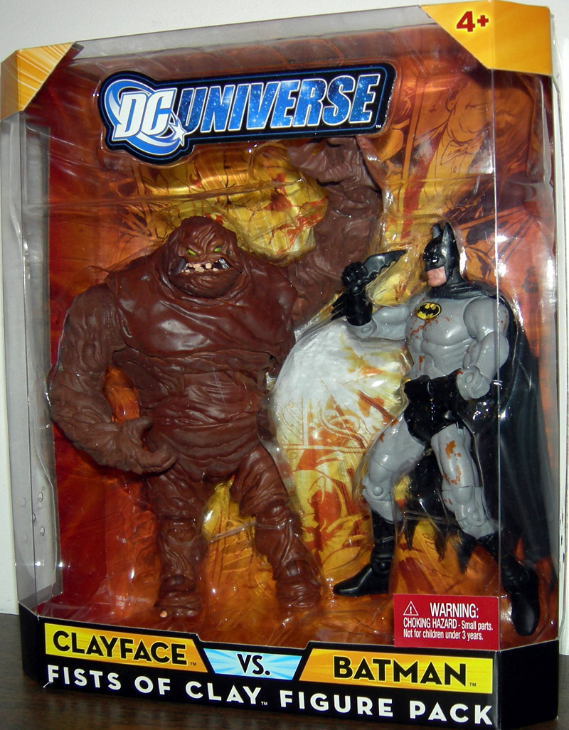 Clayface vs. Batman - Fists of Clay Figure Pack (DC Universe)