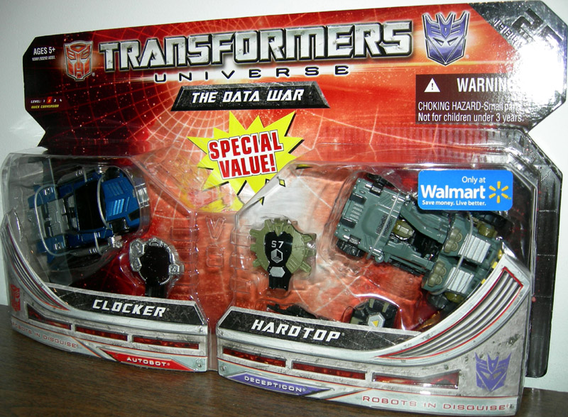 Clocker & Hardtop (The Data War)