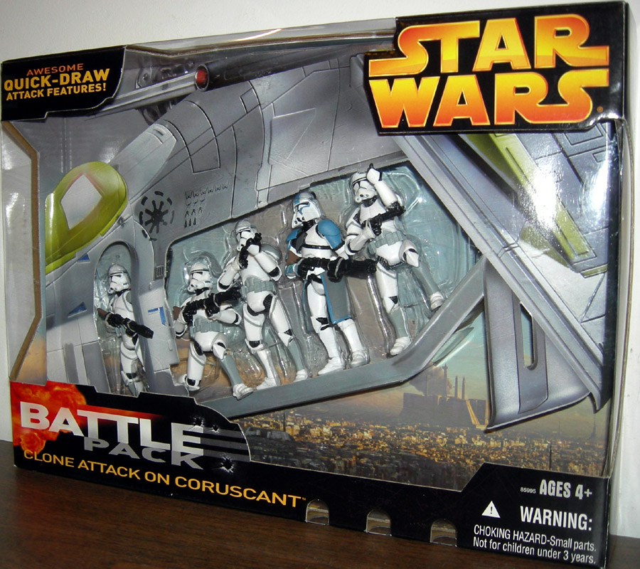 Clone Attack on Coruscant Battle 5-Pack