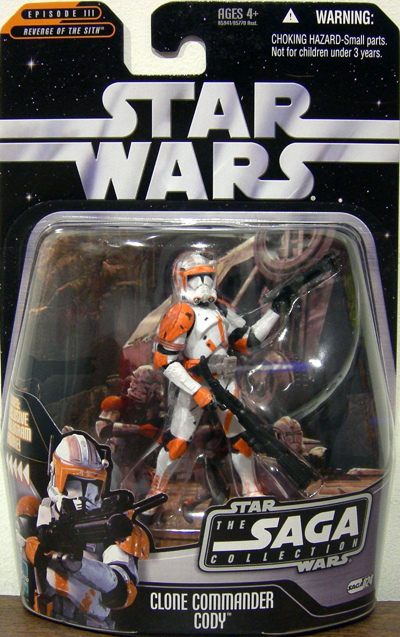 Clone Commander Cody (The Saga Collection, #024)