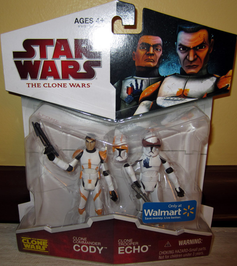Clone Commander Cody & Clone Trooper Echo 2-Pack