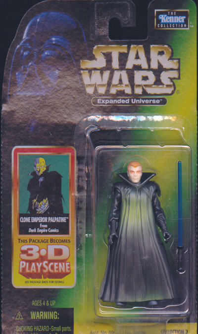 Clone Emperor Palpatine Figure Star Wars Expanded Universe