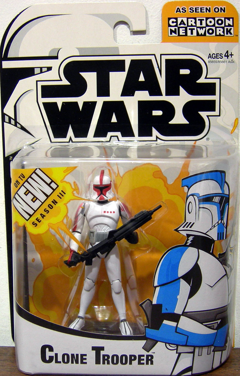 Clone Trooper Captain (Cartoon Network III)