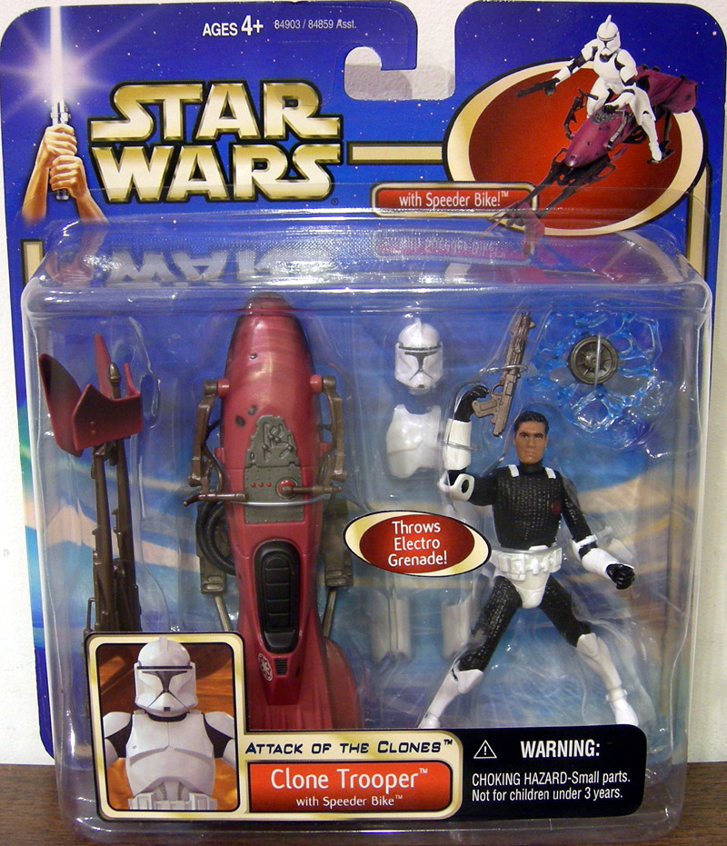 Clone Trooper with Speeder Bike (deluxe)