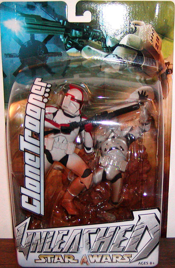Clone Trooper (Unleashed, red)