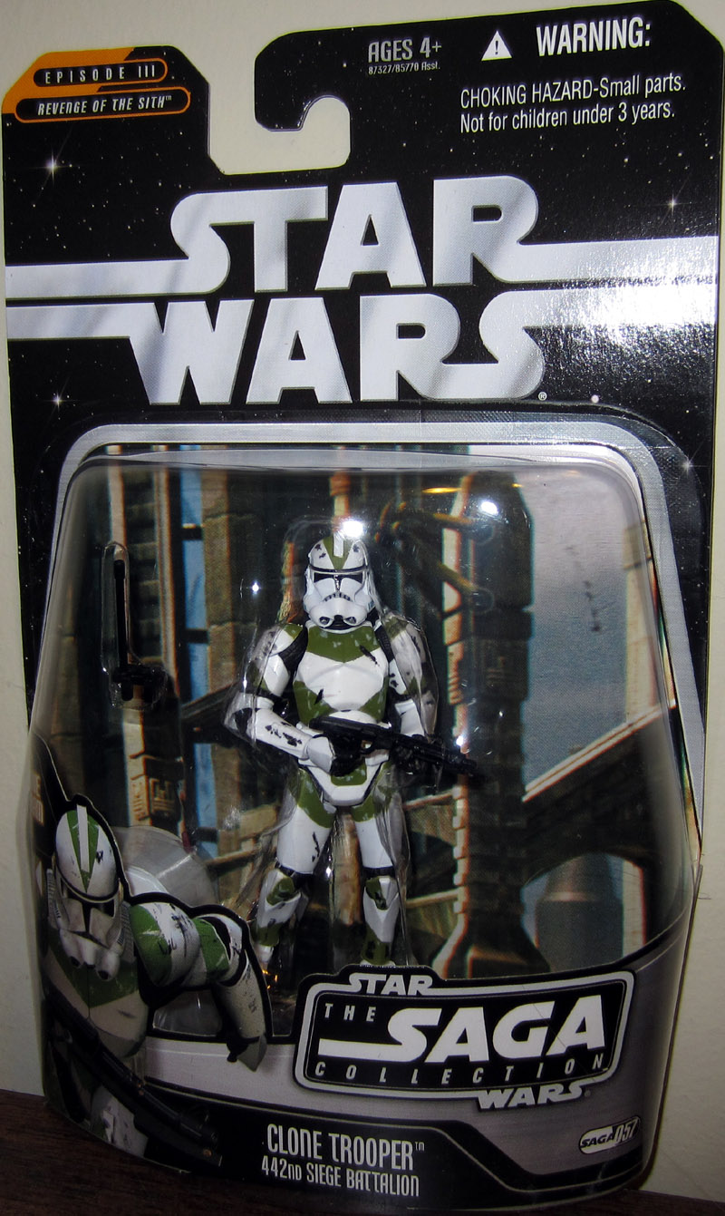 Clone Trooper 442nd Siege Battalion (The Saga Collection, #057)