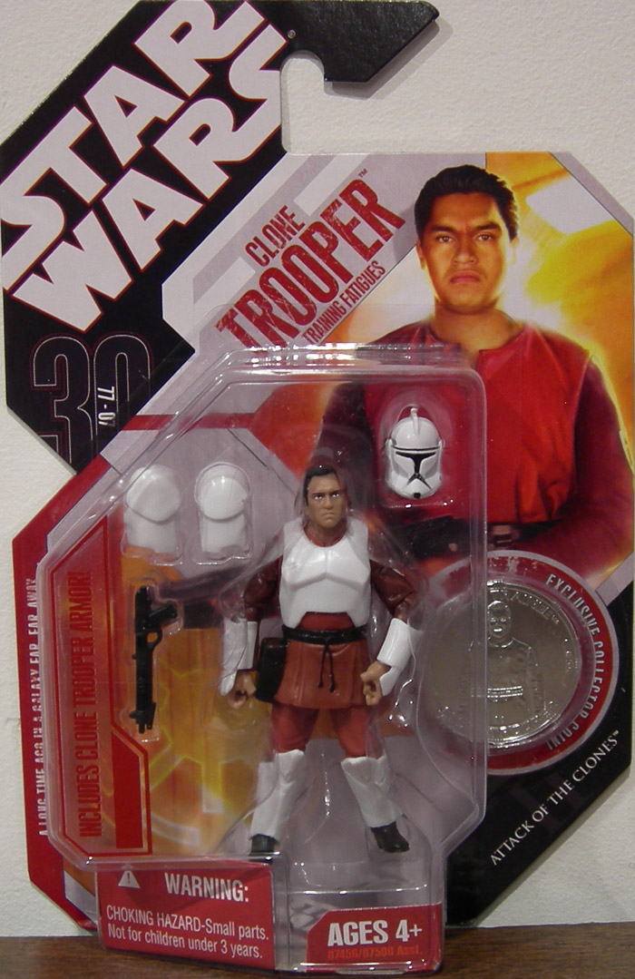 Clone Trooper Training Fatigues (30th Anniversary, No. 55)