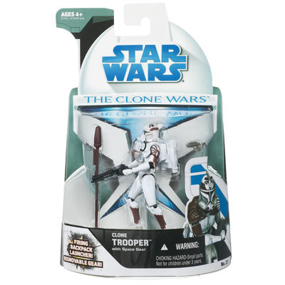 Clone Trooper with Space Gear (The Clone Wars)