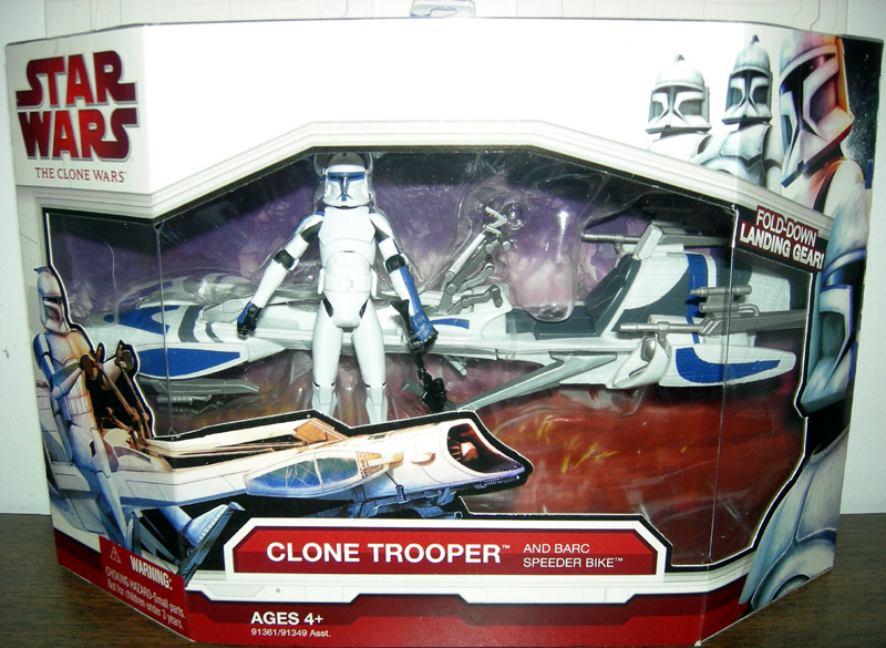 Clone Trooper and Barc Speeder Bike (The Clone Wars)