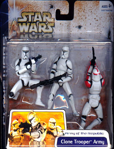Clone Trooper Army (with Clone Trooper Captain)