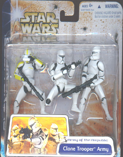 Clone Trooper Army (with Clone Trooper Commander)