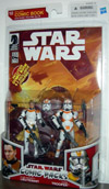 Clone Trooper Lieutenant & Clone Trooper (Comic Packs #10)