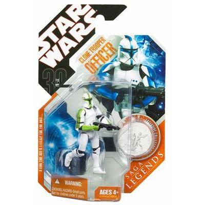 Clone Trooper Officer (30th Anniversary Saga Legends, green)