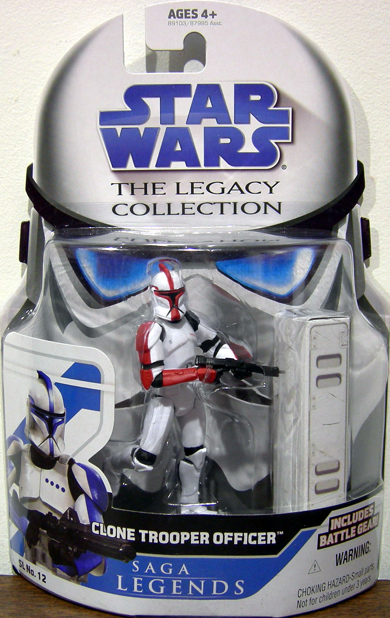 Clone Trooper Officer (The Legacy Collection, red)