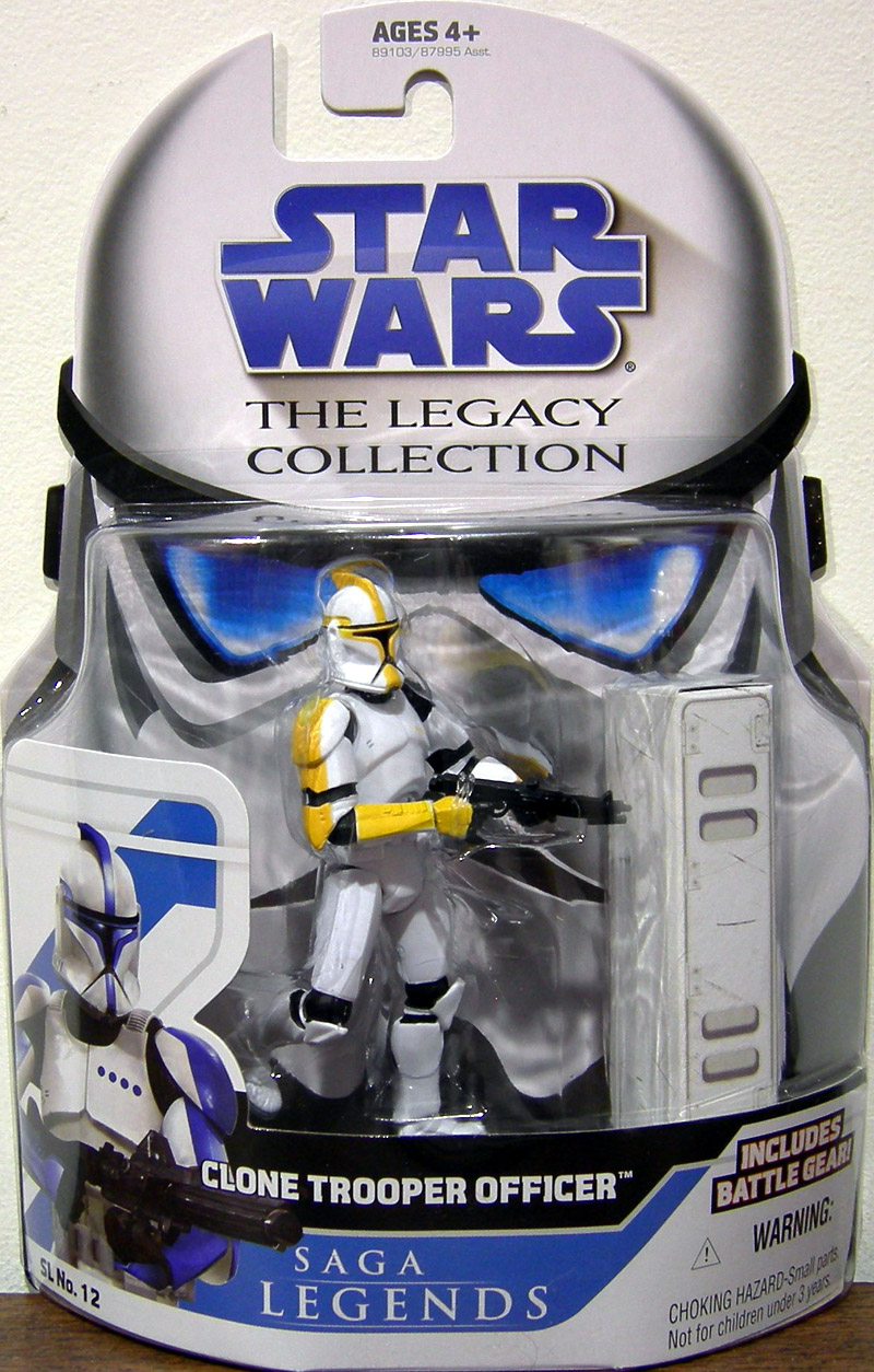 Clone Trooper Officer (The Legacy Collection, yellow)