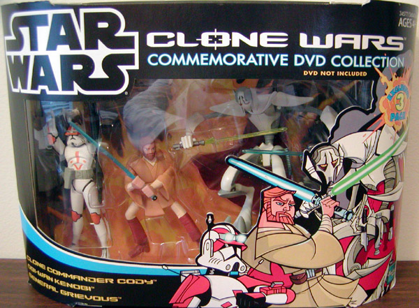 Clone Wars Commemorative DVD Collection 3-Pack (Animated Pack 2)