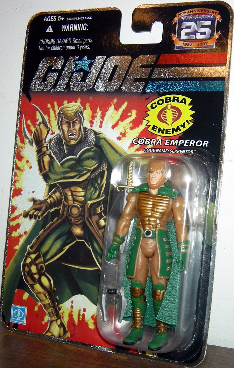 Cobra Emperor (Code Name: Serpentor)