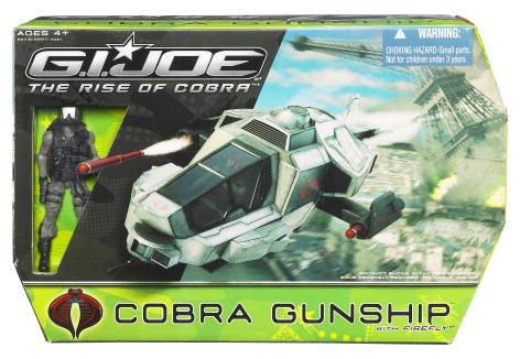 Cobra Gunship with Firefly (The Rise of Cobra)