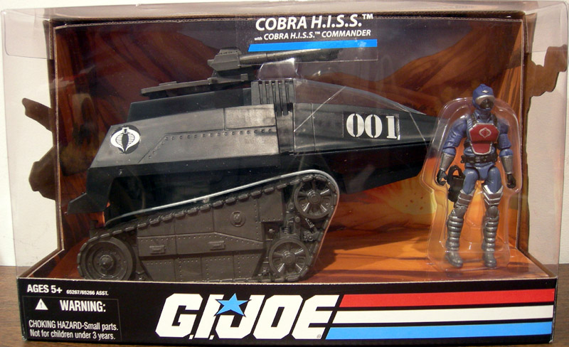 Cobra H.I.S.S. with Cobra H.I.S.S. Commander